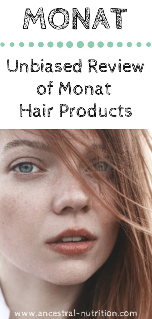 Monat Haircare Products - an honest review of a beauty product that promises volume to thinning hair! Before and after pics aside - Do this products really change your hair for the better? Find out in my unbiased review #haircare #beauty