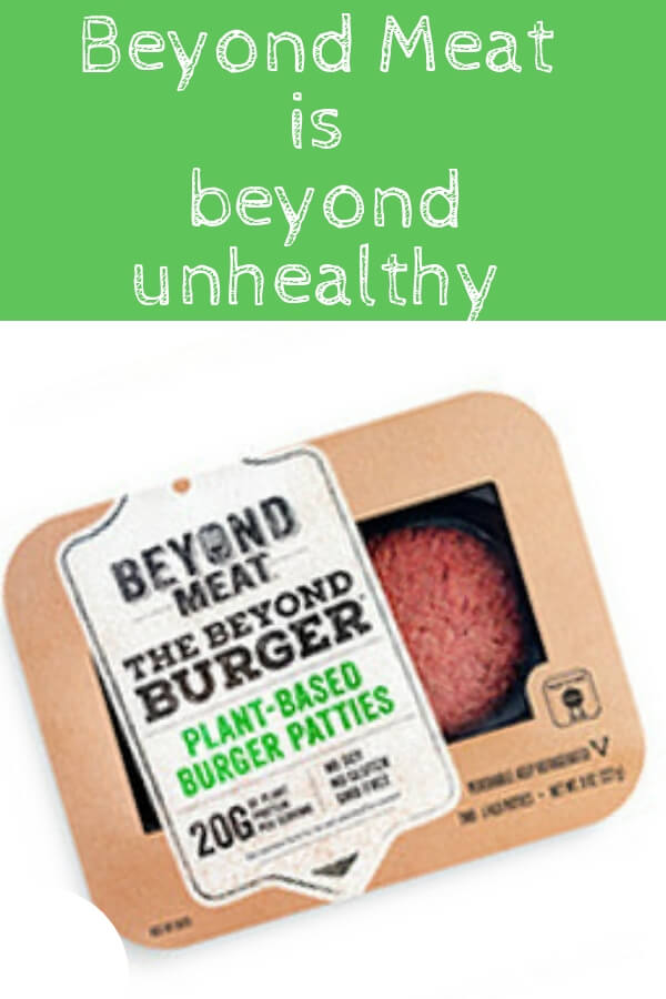 So, you think by buying a Beyond Meat Burger, you're doing yourself and the environment a favor? Think twice. I took a look at the ingredients and here's my honest review! #healthyfood #dieting #fitness #beyondmeat
