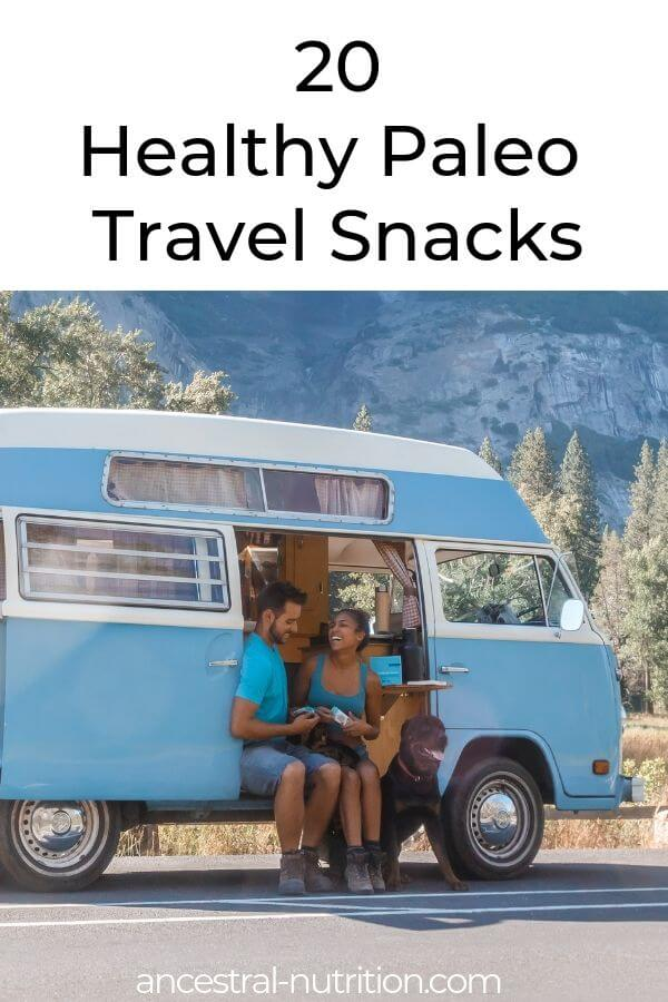 20 Healthy Paleo Travel Snacks | I literally always bring snacks when we're traveling, even if it's just an hour road trip. I'd rather have snacks on hand than needing to pull over for a drink or because I'm starving. Not to mention the fact that it's way cheaper to pack your own snacks than buy them. Here are some of my faves. #paleo #travelling #health #nutrition
