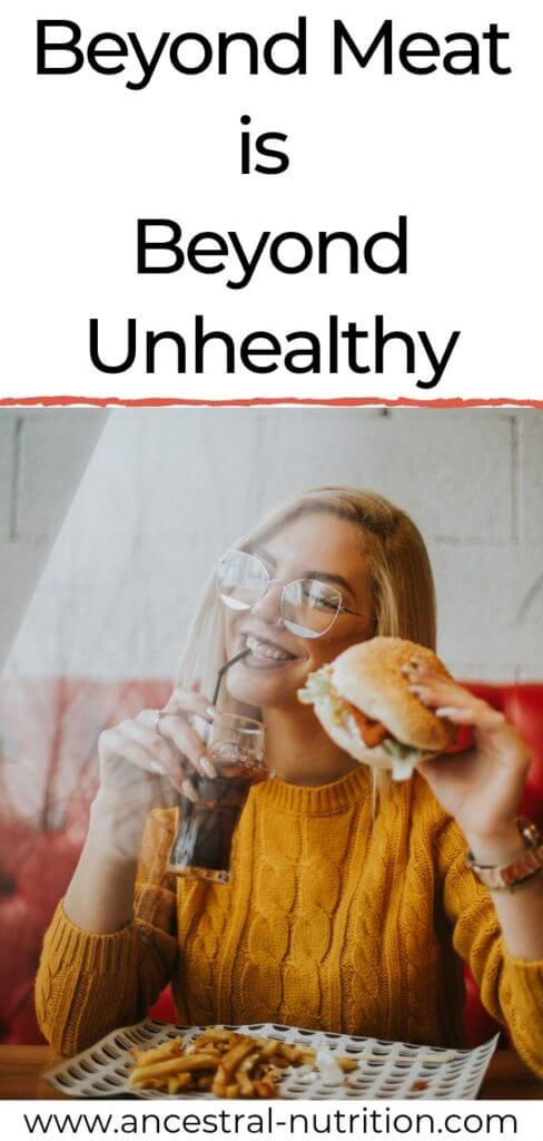 So, you think by buying a Beyond Meat Burger, you're doing yourself and the environment a favor? Think twice. I took a look at the ingredients or this meatless burger and here's my honest review as a holistic nutritionist!#healthyfood #dieting #fitness #beyondmeat