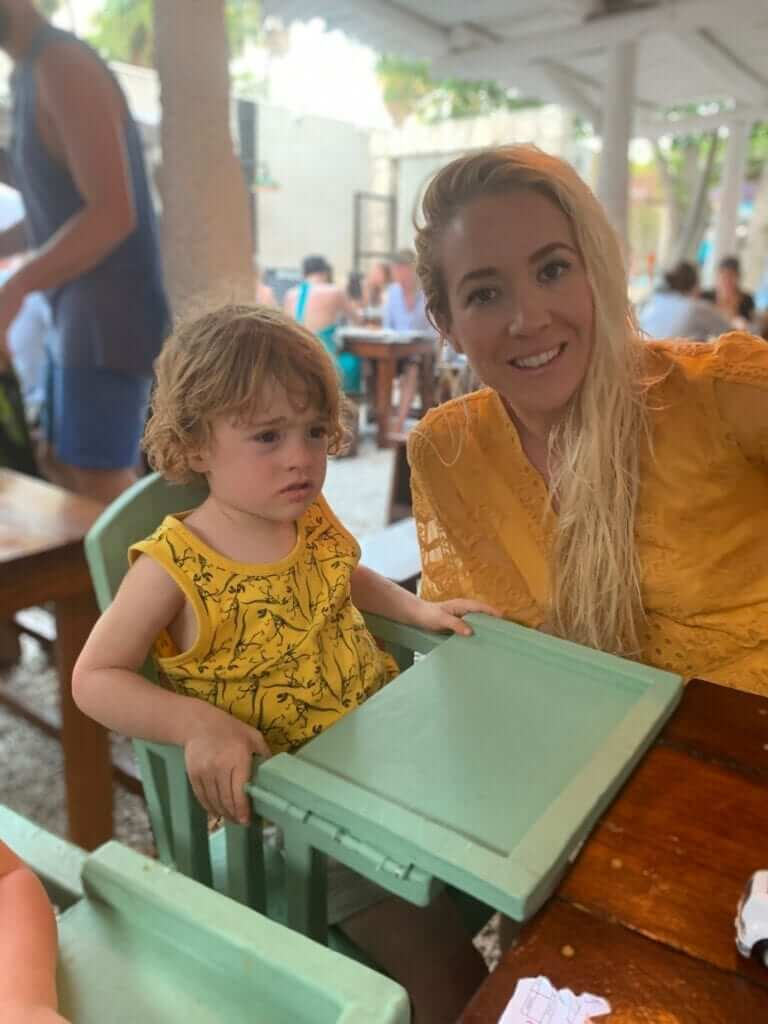 Paleo Blogger Dani from Ancestral Nutrition at Hartwood restaurant Tulum