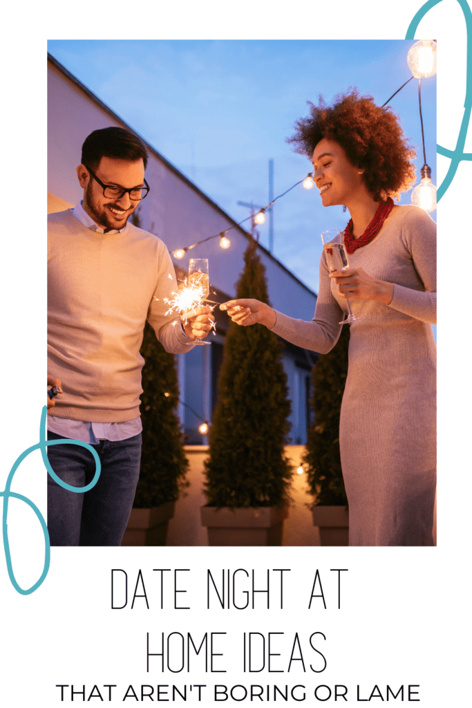 Keep the love alive during quarantine with these 12+ simple and easy romantic Date Night At Home Ideas that will help you feel closer, and provide a break from the stress.  #quarantinelife #datenight  #romance #relationships #mentalhealth