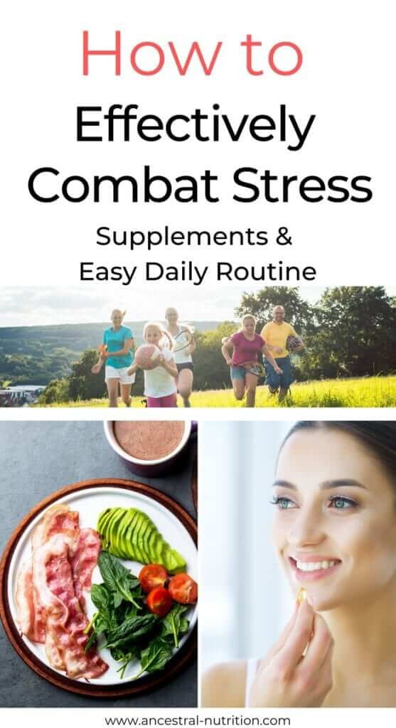 Learn how to combat stress with over the counter anti-stress supplements and find out how to reduce daily stress with a healthy routine for a calmer, happier, and meaningful life every day.  #antistress #mentalhealth #Mindfulness #anxiety