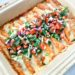 Grain Free Enchiladas (Gluten-Free, Low-Carb, Paleo Option)